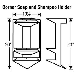 CornerSoapAndShampooHolderLD
