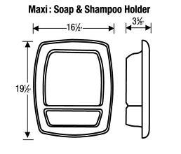 MaxiSoapAndShampooHolderLD