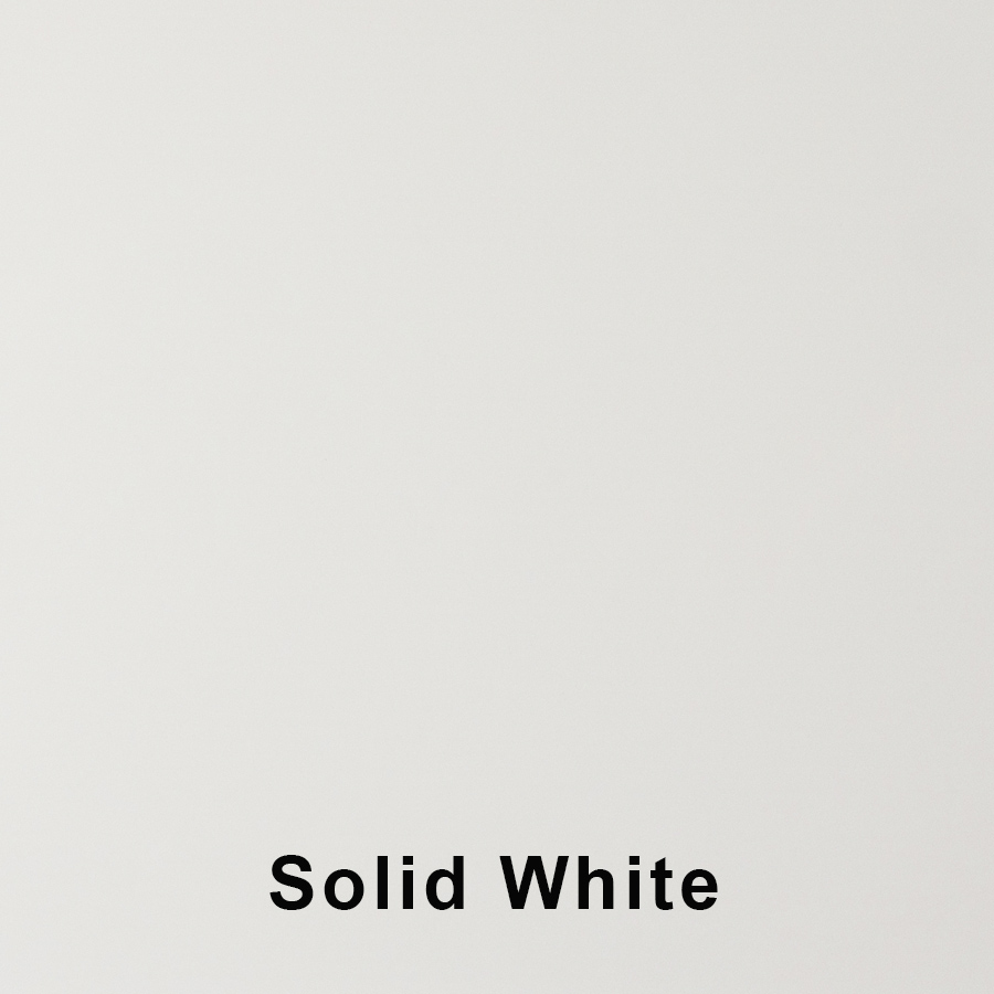 Solid White